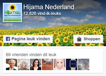 Facebook Pagina Hijama.nl Like ons vandaag nog!