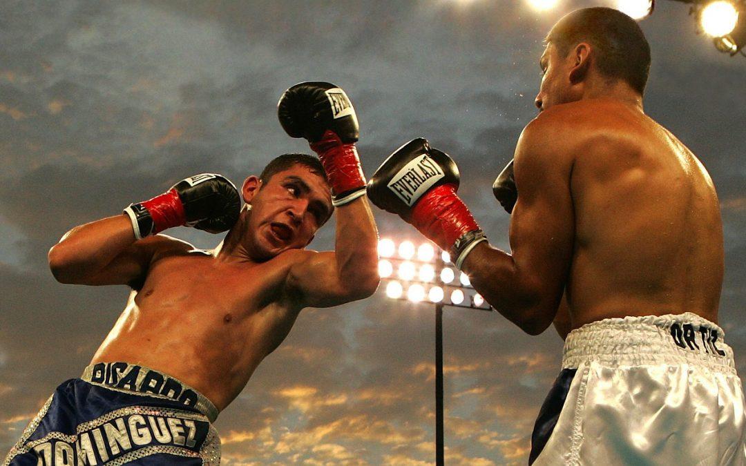Conor McGregor voert cupping uit voor zijn gevecht tegen Khabib Nurmagomedov