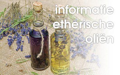 Informatie etherische oliën