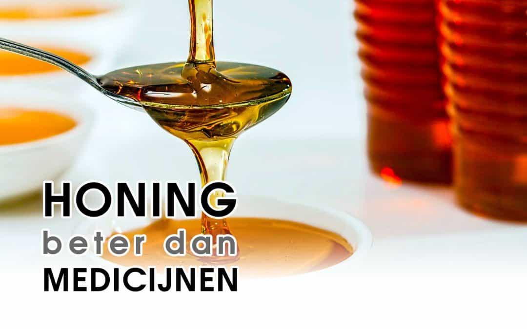 Onderzoek Oxford Honing beter dan Medicijnen