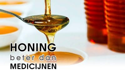 Onderzoek: Hoest, verkouden of een zere keel? Experts adviseren honing in plaats van medicijnen!